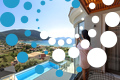 Thumb villa maria vasiliki lefkada lefkas accommodation girl on private balcony pool sea view