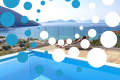 Thumb villa irene vasiliki lefkada lefkas girl on cushion private pool sea view header photo