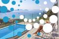 Thumb villa irene vasiliki lefkada lefkas girl overlooking private pool sea view
