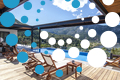 Thumb villa theia desimi lefkada greece private pool with mountain view