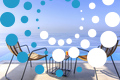 Thumb villa blue ionian sivota greece accommodation seating area with infinity pool across the ionian archipelagos