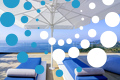 Thumb villa blue ionian sivota greece accommodation sun beds with umbrellas and ionian archipelagos view